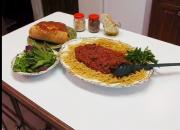 Homemade Spaghetti with Tasty Meat Sauce