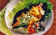 Perfect Raw food lunch option - Lettuce wrap with sprouts