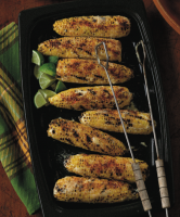 Mexican Corn on the Cob with Mayo, Lime, and Grated Cheese