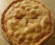 Cranberry Apple Plate Pie