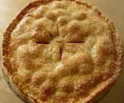 Cranberry Apple Plate Pie