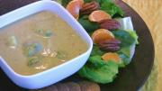 Broccoli Soup with Pureed Cashew