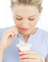 Eat yogurt to treat stomach flu
