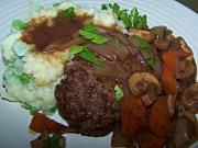 Healthier Salisbury Steak