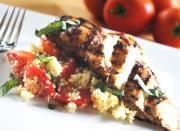 Italian Chicken with Tomato Basil and Lemon Couscous