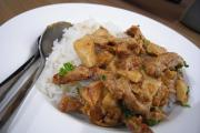 Beef And Sherry Stroganoff