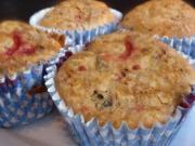 Festive Cranberry Date Muffins