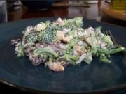 Broccoli Salad with Raisins and Walnuts