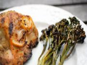 Split Chicken Breasts with Baby Broccoli | Paleo