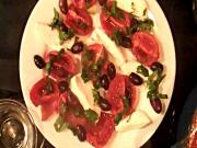 Roasted Mediterranean Caprese Salad
