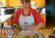 Mexican Torta Sandwich with Cheese - Part 2 - Scallion Mixture Layer