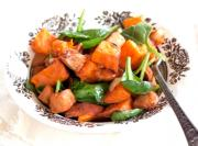 Sweet Potatoes & Spinach