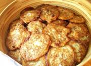 Walnut And Wheat Germ Silver Dollar Pancakes