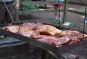 Outdoor Barbecued Beef
