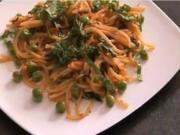 Peas Spaghetti