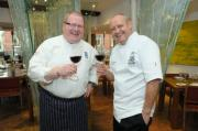 Chef Paul Askew (on the left) and his Christmas Dinner Secrets