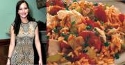 Jennifer Lawrence and her Jambalaya date
