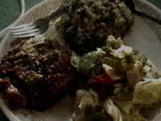 Baked Portabello Mushroom Dinner For Two