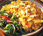 Potato and Beef-Tortilla Skillet