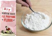 DIY gluten free flour