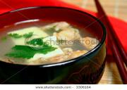 fish miso soup is under 100 calorie