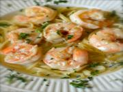 Shells Shrimp and Garlic Pasta