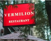 About Vermilion Restaurant