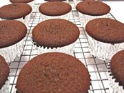 Betty's Dark Chocolate Cupcakes--for Valentine's Day!