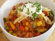 Vegetarian Quinoa Chilli