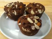 Flax Almond Muffins
