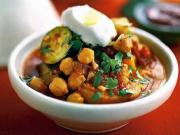 Lebanese Vegetable & Chickpea Tagine