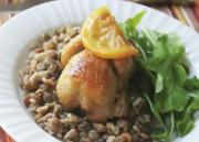 Delicious Roast Quail With Cured Lemon