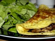 Omelette With Spanish Mushroom Filling