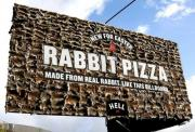 Rabbit Pizza Billboard