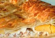 Baked Egg and Bacon Pie