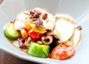 Mediterranean Calamari Salad