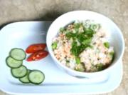 Tuna, Asparagus and Crab Roe with Fried Rice