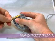 Left Hand Double Crochet Tutorial #11: FDC Join in the Round
