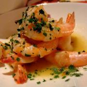 Sauteed Shrimp with Garlic Lime and Chile Sauce