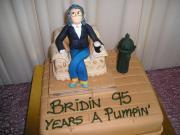 95 birthday cake