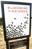 Blackbird vineyards are popular for their wines