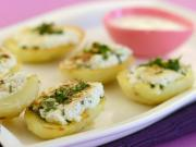 Stuffed Potatoes with Paneer