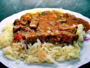 Curried Veal With Rice