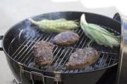 Cooking on a charcoal grill is an easy and enjoyable experience