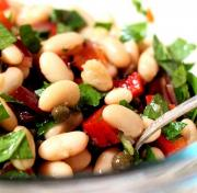 Crunchy Marinated Bean Salad