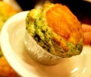 Pat's Spinach Souffle