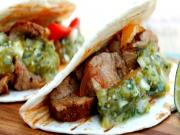 Healthy Braised Pork Tacos with Tomatillo Salsa Verde