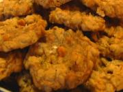 Betty's Salted Butterscotch Oatmeal Cookies -- 4th of July