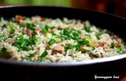 Simple Chicken Sausage Rice