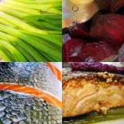 Mustard Seed Coated Salmon
